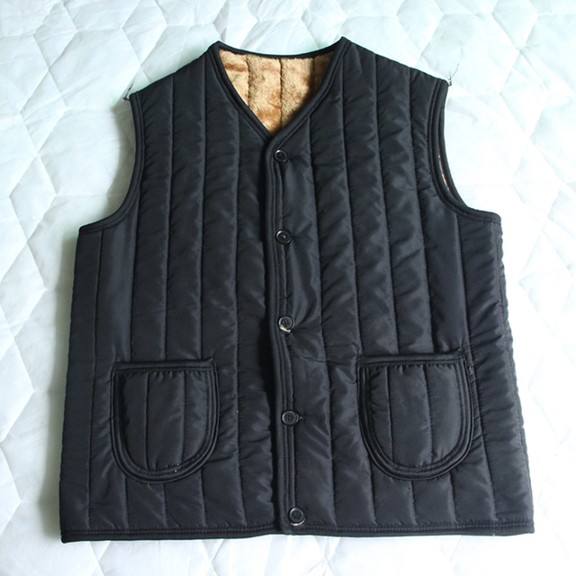 Mens Thick Vest Cotton vest Loose Thickening Middle-Aged Men Sleeveless Jacket 2016 Mens Vest Outdoors Brand