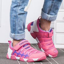 ULKNN Girls sneakers 6 childrens outdoor sports shoes 7 breathable mesh face light 8 primary school 9 slip 10 years old boy