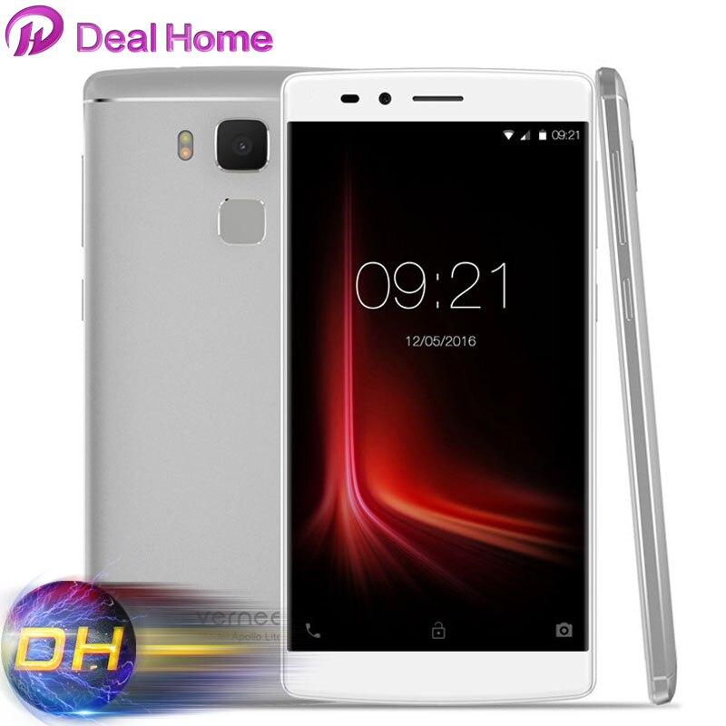"Цена за 5.5 ""FHD Vernee Apollo Lite Мобильный Телефон Android 6.0 1080 P Дека Core MTK6797 2.3 ГГц 4 Г FDD LTE 4 ГБ RAM 32 ГБ ROM 16MP Отпечатков Пальцев"