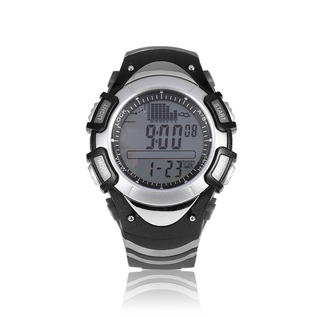 SUNROAD Men Digital Fishing Watch 50m Waterproof Sport Weather Forecast Barometer Thermometer Reminder watch