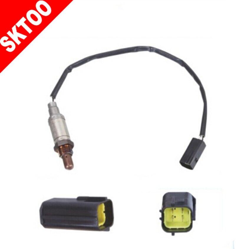 For RENAULT R 19 1.6 i 1,6 Ltr.55 kW 96 lambda sensor 0258003687 / 77002218649