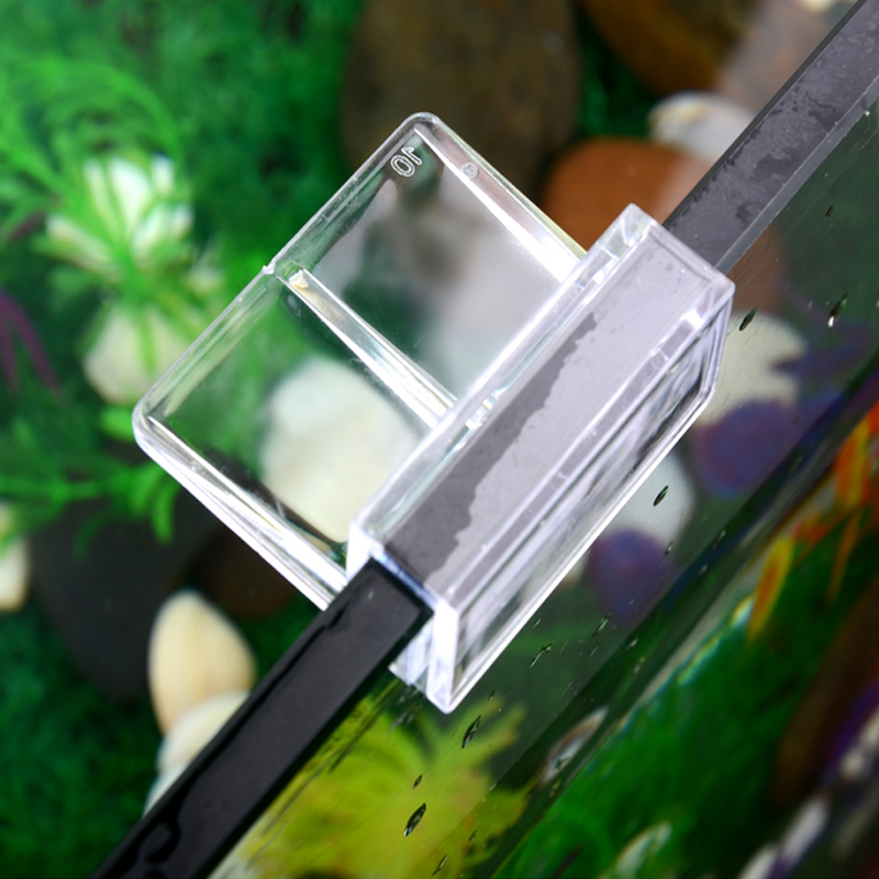 4pcs/lot Glass Cover Support Holder Multifunctional Fish Tank Aquarium Acrylic Clips