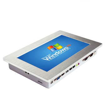 Industrial Embedded Tablet PC With Intel Atom D2550 processor 4GB RAM For Industrial Control touch panel pc