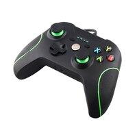 Onetomax用ダブルショックのusb有線コントローラーゲームパッド用microsoft xboxワンコントローラージョイスティック用pc win 7 8 10 xpトッ