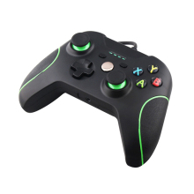 Onetomax For Double Shock USB Wired Controller Gamepad For Microsoft Xbox one Controller Joystick for PC Win 7 8 10 XP Top