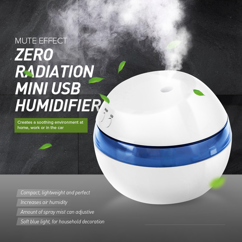Mini Ultrasonic Humidifier USB Car Air Humidifier for Home Office Car Aroma Cool Mist Humidifier Sound-off Portable Aromatherapy mini ultrasonic humidifier usb car air humidifier for home office car aroma cool mist humidifier sound off portable aromatherapy