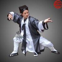 Унисекс полный набор Удан даосский равномерное тай чи униформы Шаолинь кунг фу костюм Wing chun боевых искусств одежда