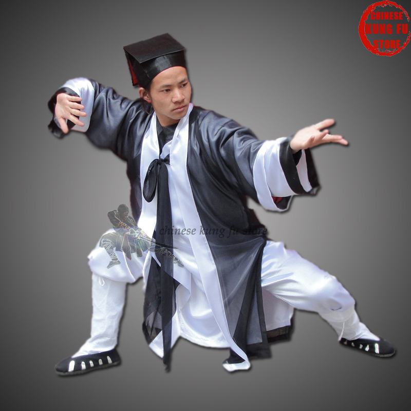 Unisex Complete Set Of Wudang Taoist Uniform Tai Chi Uniforms Shaolin Kung Fu Suit Wing Chun Martial Arts Clothes