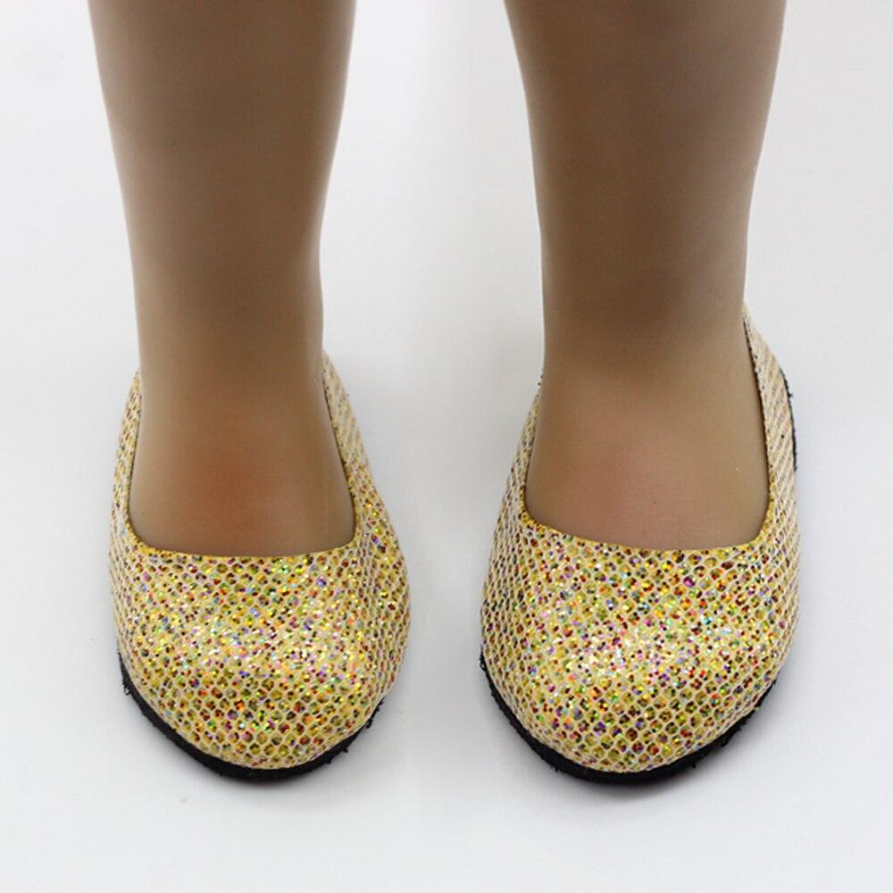 c206cae40f700e Pop Schoenen Past 18   Amerikaanse Meisje Pop Kleding Rose Rood Glitter  Schoenen Met Pop Accessoires