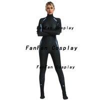 Black Widow Women Cosplay Costume Zentai Bodysuit Suit Jumpsuits halloween costume for woman