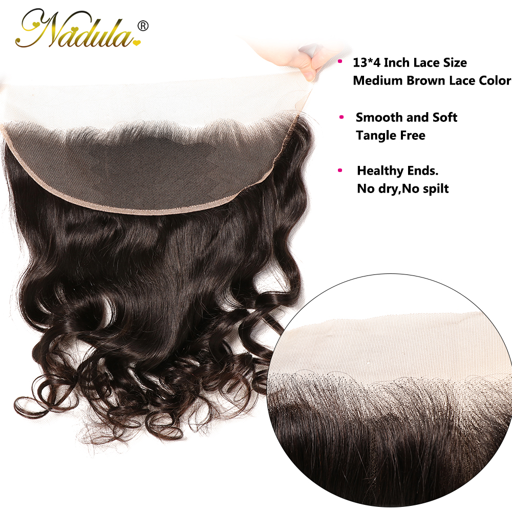NADULA HAIR Loose Wave Bundles With Frontal   Bundles With Frontal Closure  Bundles With Closure 5