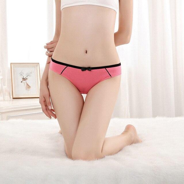 143c01e16 Free shipping 5pcs lot Hot Selling Cotton women s briefs Manufacturer s  direct women s underwear cotton women s