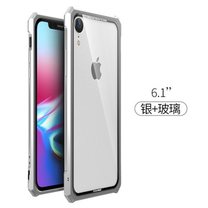Image 5 - High end ultra thin metal frame Tempered glass mirror shell For Iphone XS case cover FOR XS MAX FOR XR metal case