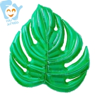 New Hot Inflatable Green Leaf Pool Float Water Fun Beach Toy Air Mattress Swimming Bed Floating Raft