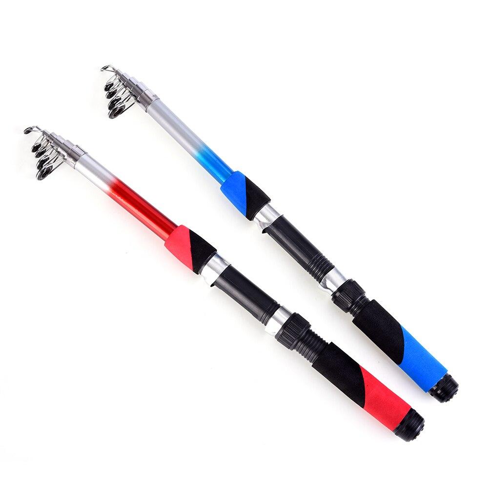 Carbon Fiber Telescopic Fishing Rod 6.9FT Spinning Rod Fishing Travel Sea Rod