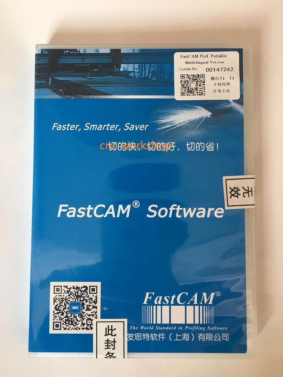 Оригинальное программное обеспечение FASTCAM, профессиональная версия плазменного резака с ЧПУ, портативная версия