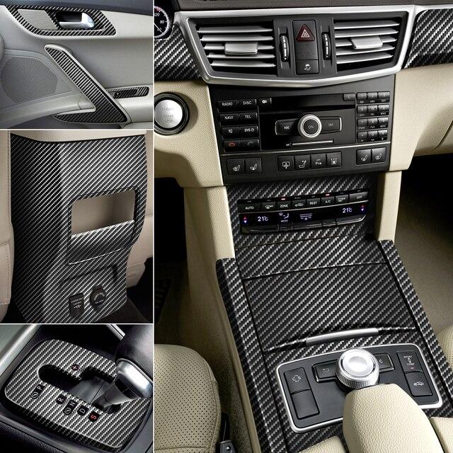Rollo de lámina de revestimiento para coche, vinilo de fibra de carbono, pegatinas adhesivas para VW Golf 4 5 6 Polo Passat B5 B6 B7 B8 CC Jetta MK6 Tiguan Gol Eos