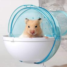 Small Pet Bating Tool Hamster Sand Room Eco-friendly Bathroom House Harmless Chinchilla Bath