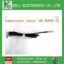 Бесплатная доставка 1 шт. датчик температуры NTC 10 К B3950 1% точность высокая точность puick mf58 длиной 1 метр
