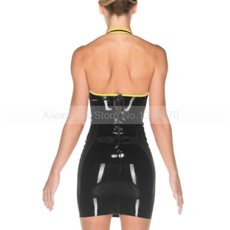 Weibliche Latex Gummi Reißverschluss Kleid As Sexy ld213 Mit S Halter Taille Picture FtExqFrYnw