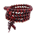 natural wood fashion Bracelets 108 Buddhist prayer beads  Bracelets Men Women Long Bangle Religion Gift Wholesale