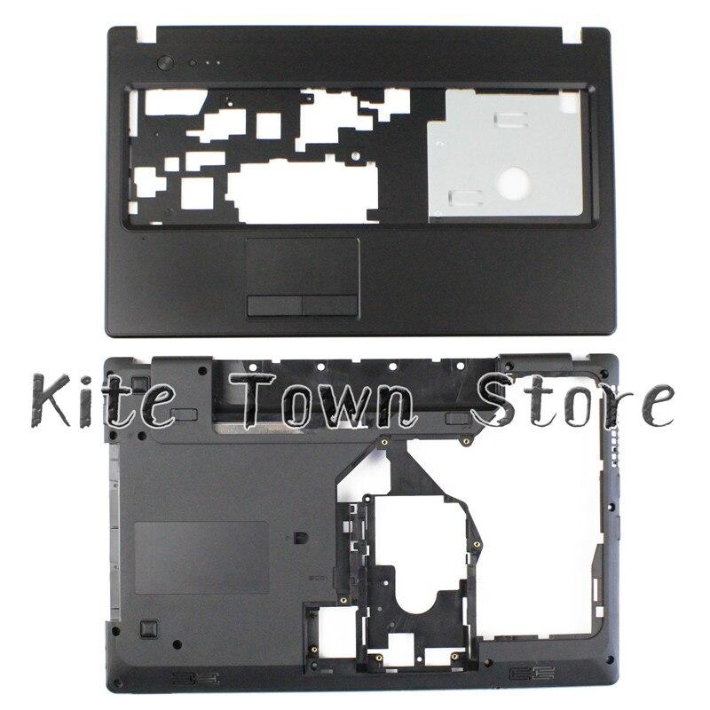 NEW For Lenovo G570 G575 Bottom Base Cover Case & Palmrest Upper Case HDMI Combo Free Shipping
