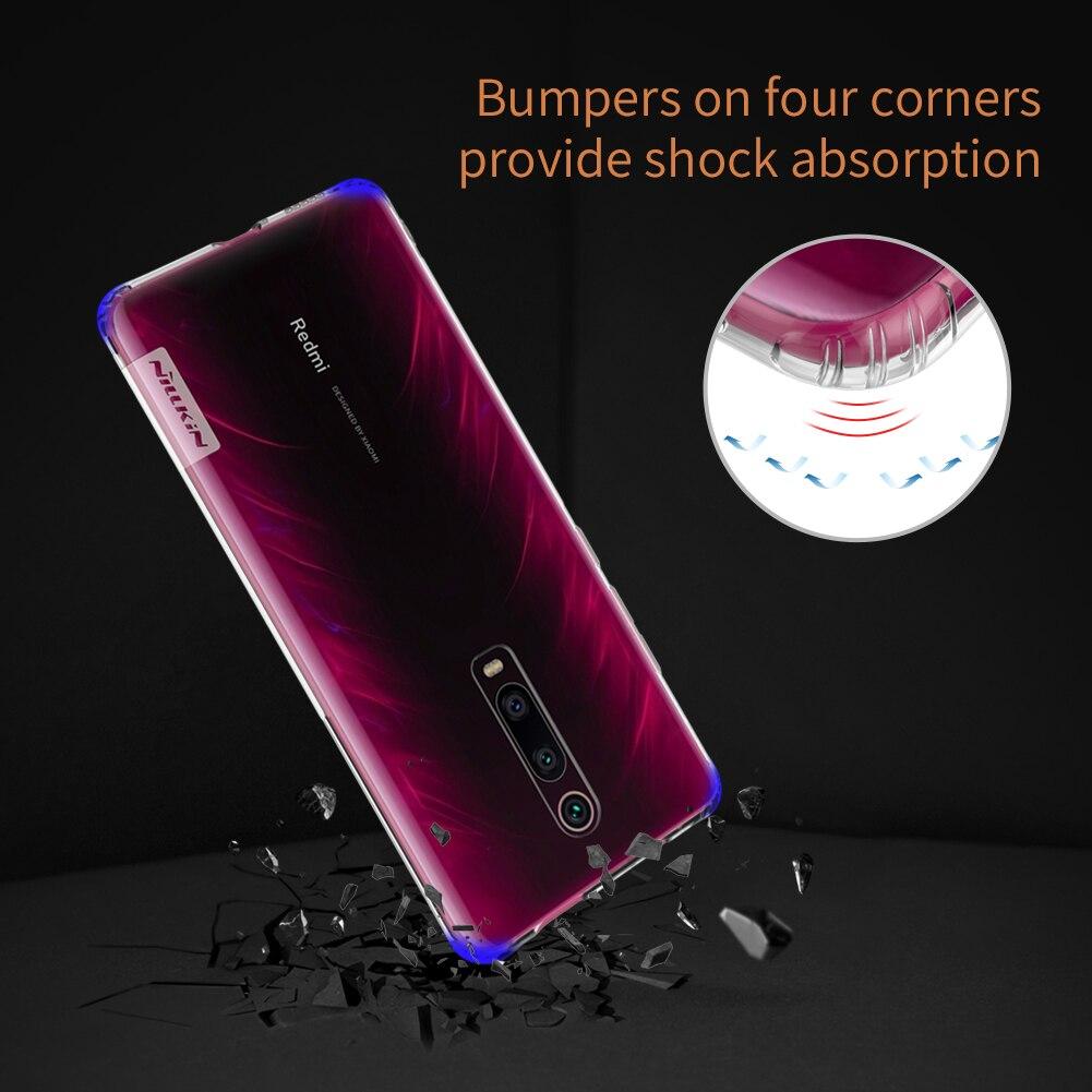 HTB1m.BUeRWD3KVjSZKPq6yp7FXaz TPU Case for Xiaomi Mi 9T Pro Casing Nillkin Nature Transparent Clear Soft Silicon Soft Cover for Xiaomi Mi 9T Pro Case