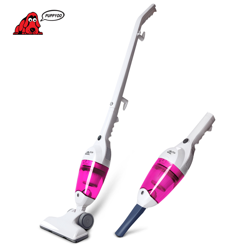 PUPPYOO Low Noise Mini Home Rod Vacuum Cleaner Portable Dust Collector Home Aspirator Handheld Vacuum Catcher WP3006Pink aftermarket free shipping motorcycle parts engine stator cover for honda cbr1000rr 2004 2005 2006 2007 left side chrome