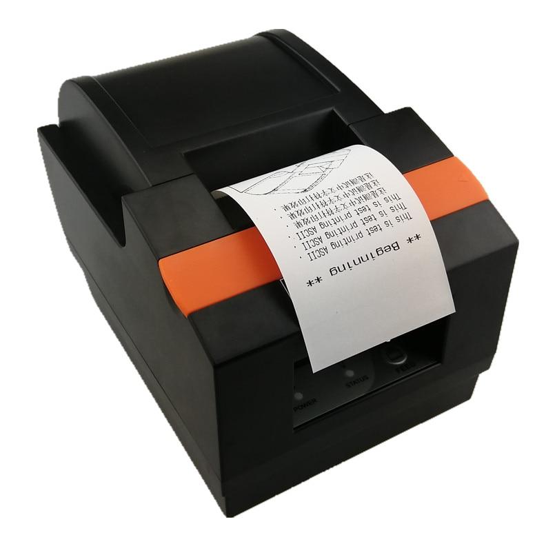 58mm Thermal Receipt Printer Automatic Cutting Bill Printer USB LAN Bluetooth Printer Supermarket Retail Store Dedicated