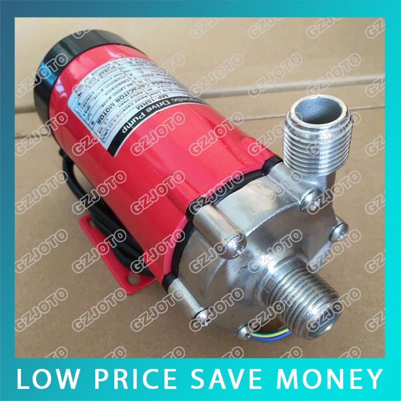 10W MINI Stainless Steel Head Food Grade Home Brew Magnetic Drive Pump MP-15RM