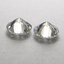 1 Carat /Bag  27piece GH color 2.00 MM Heart and Arrows cut White diamond Moissanite Stone Loose Diamond