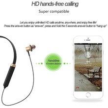 Fones de Ouvido sem fio Com Microfone Sweatproof Esporte Neckband Fones de Ouvido Bluetooth fone de ouvido fone de Ouvido Fone de Ouvido para Xiaomi Telefone