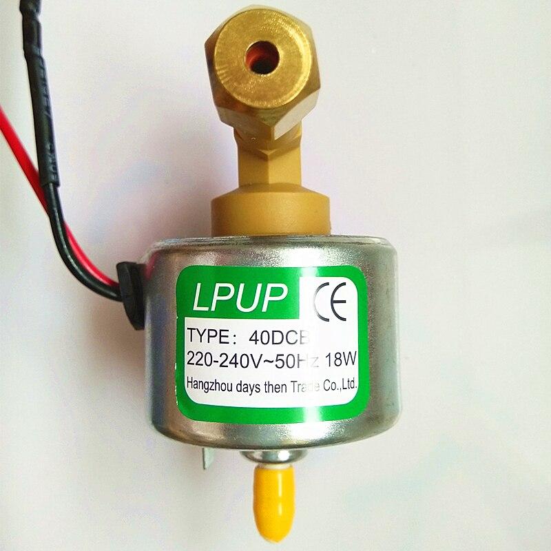 Pompe d'aspiration d'huile modèle 40DCB tension 220-240V-50Hz puissance 18 W