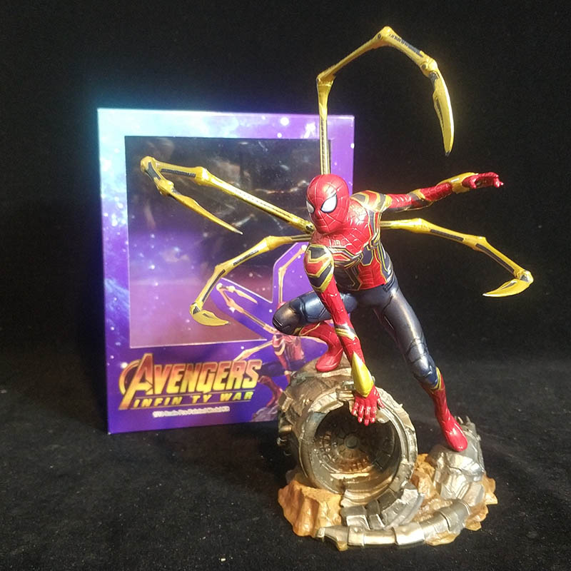 Avengers Infinity War Fighting Version Iron Spiderman Spider-Man: Far From Home Action Figure Toy Brinquedos