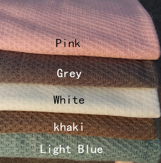 150*100cm Knitted  Thin Fabric Newborn Baby Photography Photo Props Backdrop Blanket Newborn Basket Stuffer  Photography Fabrics