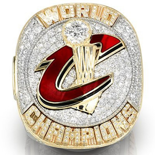2016 The Cleveland Cavaliers Basketball Championship Ring Size 10 To 13 High Quality MVP LeBron James