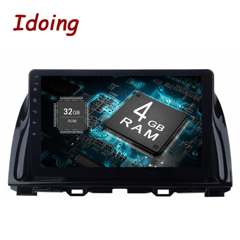 Idoing 2Din 10.2inch 4G RAM 32G ROM Steering Wheel Android8.0 Car Multimedia Player Fit  ...