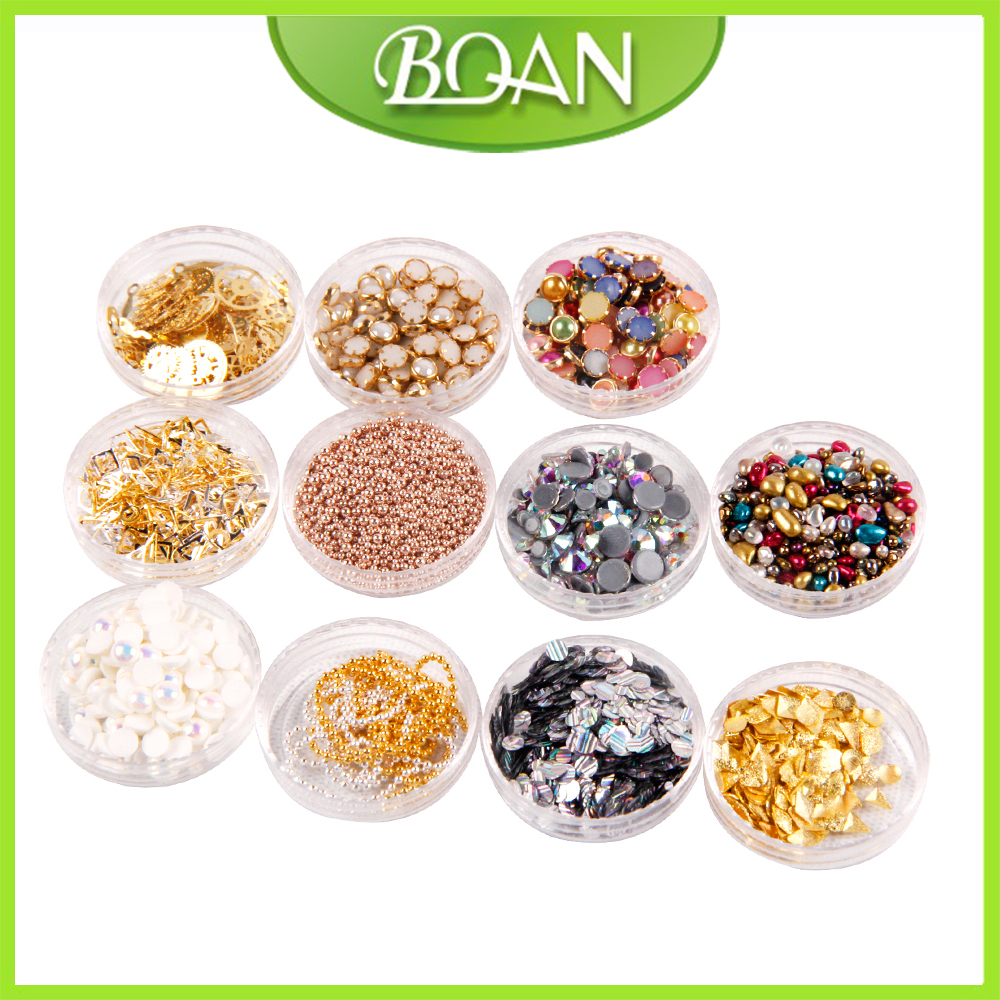 3D Charms Glitter Nail Art Decorations Mix Irregular Beads Rhinestones Alloy Studs Design Manicure Nail Gel Laser Paillettes 10g box clear nail caviar micro beads 3d glitter mini beans tiny tips decorations diy nail art rhinestones manicure accessories