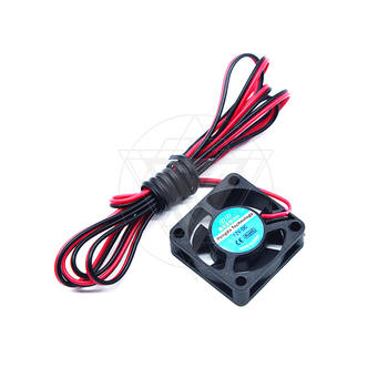 Sunning 3D printer 12V brushless mute cooling micro fan 3010 DC 12V Brushless Cooling Cooler Fan 100mm cable image