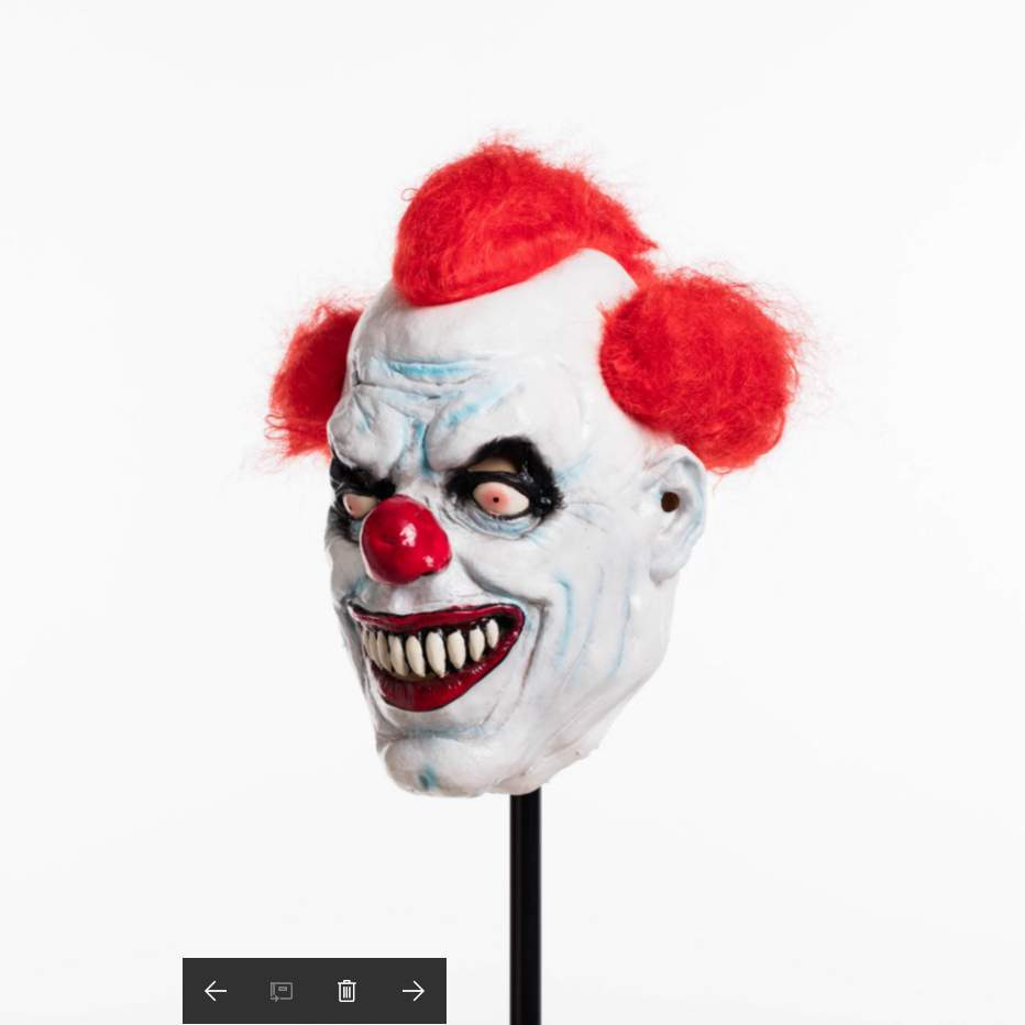 Ashanglife Evil Circus Clown Mask Pennywise Halloween Horror Party ...