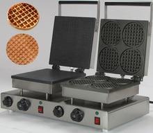220v Electric Commercial double waffle maker_belgian waffle iron