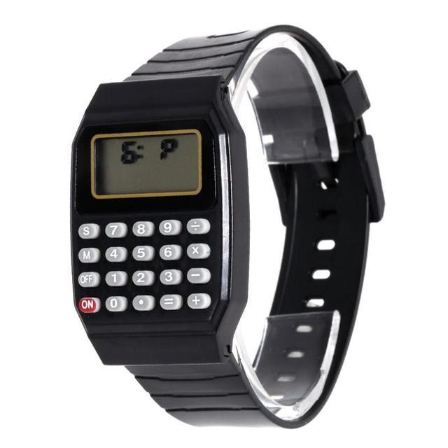 Fashion Watch Children LED Digital Silicone Casual Kids Sports watch Multifuncti