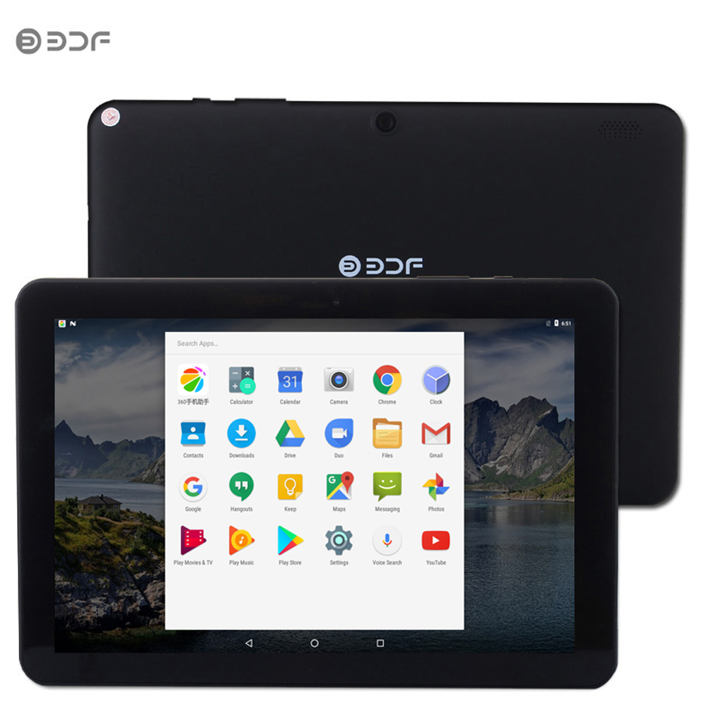 2019 Hot Sell New 10 Inch Android Tablet Pc 5.0 Quad Core 32GB ROM HD LCD Slot Mini Computer Pc HDD PC WiFi 10.1 Inch Tablets