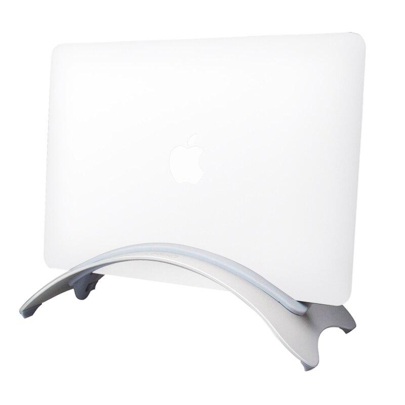 Arc Style Aluminum Desktop Vertical Stand for Laptop Tablet of Width Between 0~16mm 0~18mm 0~24mm
