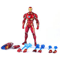 16 CM The Avengers 3 SHF Infinity War MK50 Anime Figure Dolls Joint Movable Iron Man Action Figure Fighting Model with Box M43