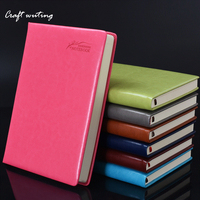Notebook Stationery Business Notepad Office Supplies Thicken Diary Booklet Fresh Loose Leaf Booklet Birthday Giftlaptop
