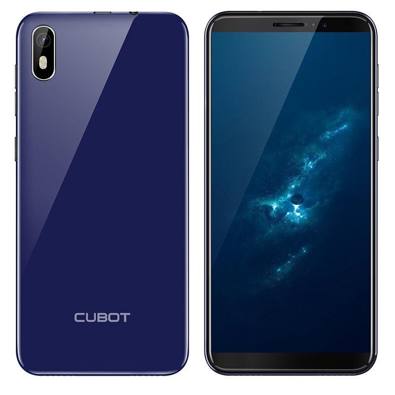 2019 Cubot J5 5.5 18:9 Smartphone Android 9.0 MT6580 Quad Core 2 GB RAM 16 GB ROM 2800 mAh 3G téléphone portable celulaire double Sim - 3