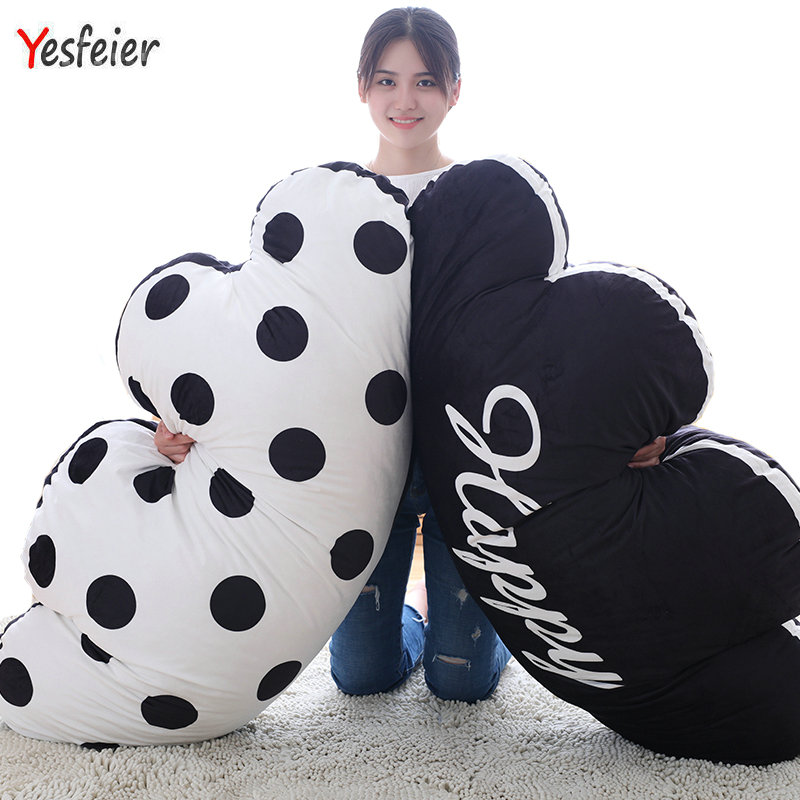 Drop Shipping 110cm 43.30 inch Cute Cloud plush toys cute pillow cushion at home decorate Pillow Stuffed Soft free shipping hot sale cute stuffed plush poop pillow coussin caca poo cojines coussin emotion pillow cushion emoji pillows page 1