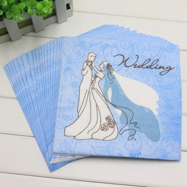happy birthday supplies bridegroom bride wedding printing paper napkins events decoration baby shower kids favors party - Kids Printing Paper