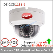Hikvision English Version 3MP IP Camera DS-2CD1131-I Replace DS-2CD2135F-IS Network Dome CCTV Security Camera Hikvision Camera